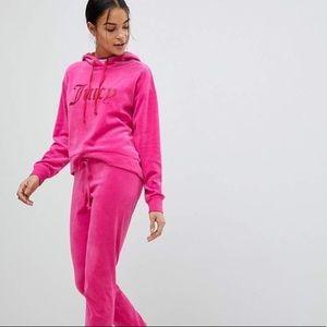 Juicy couture velvet track sweats bootcut